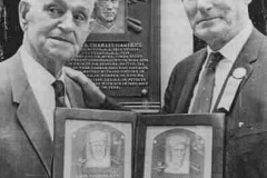 Hall of Fame Induction (with Sam Rice)